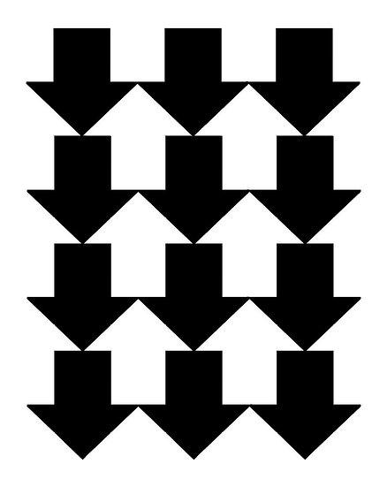 Porte savon n°3 - Flèches illusion