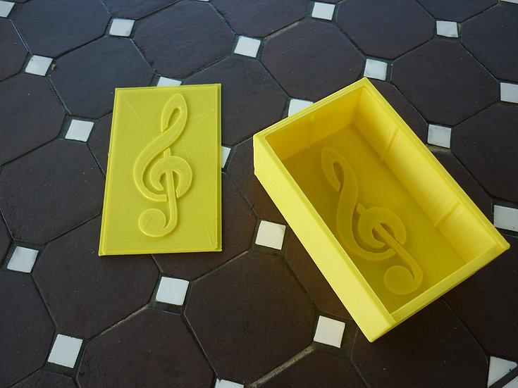 Boîte à savon n°15 - Clé de sol