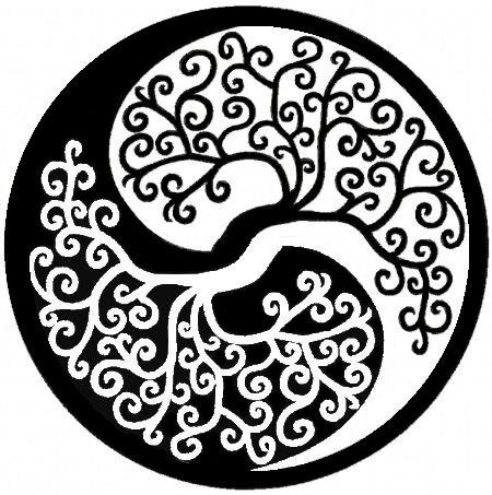 6 - Arbre de vie / Yin yang