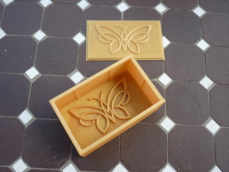 Boîte à savon n°24 - Papillon tatoo