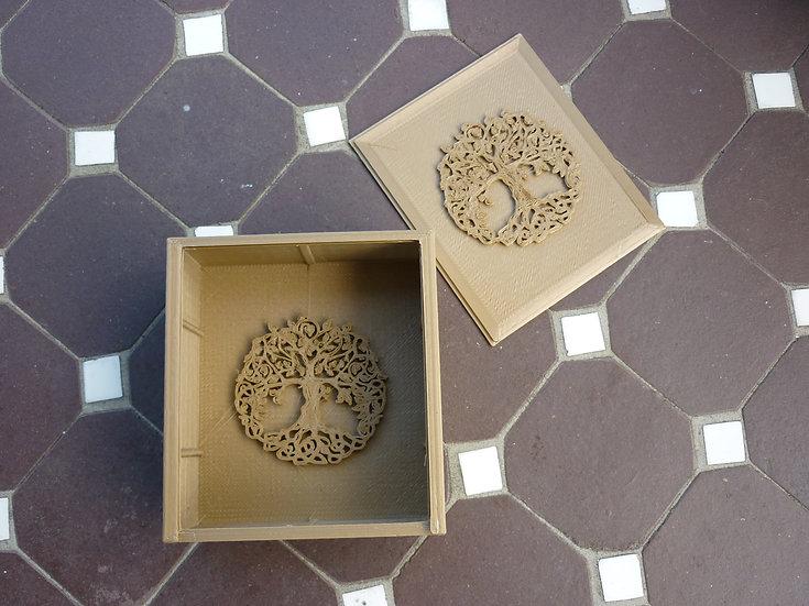 Boîte à shampoing solide n°2 - Arbre de vie Celte - Bronze-