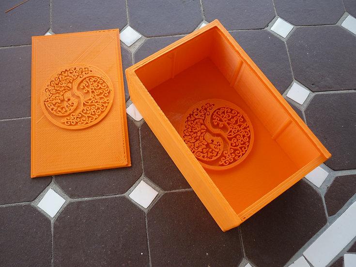 Boîte à savon n°6 - Arbre de vie / Yin Yang