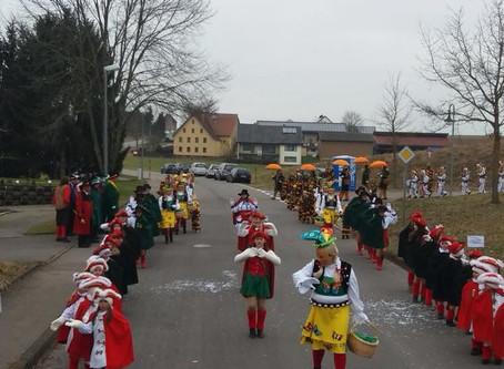 Kindernarrentreffen Lackendorf 13.01.2018