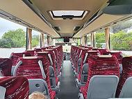 Intérieur autocar Visigo Ré Voyages île de ré - La Rochelle