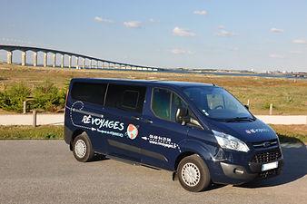 Ré Voyages île de ré - La Rochelle minibus Taxi ile de ré