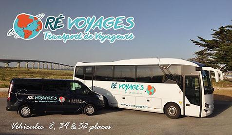 Ré Voyages île de ré - La Rochelle, Taxi & autocars