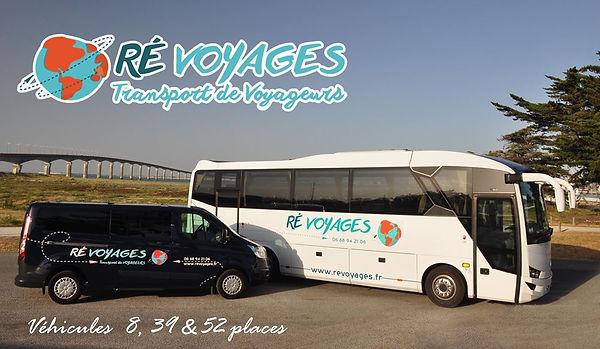 Ré Voyages île de ré - La Rochelle, taxi, vtc & autocars de tourisme