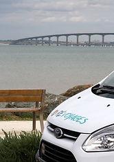 Pont de l'île de ré - La Rochelle, taxi ile de ré