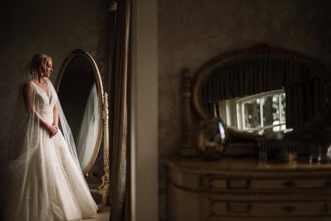 Bride-in-window-light