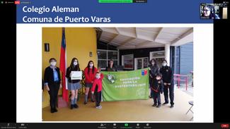 Zeremonie zum Erhalt der Umweltzertifizierung