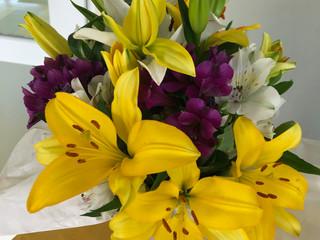 Flores para celebrar el día del profesor