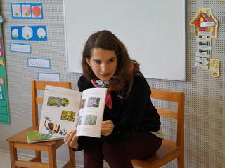 Schüler treffen herausragende Schriftstellerin