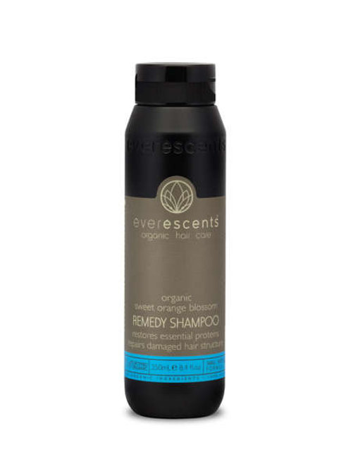 Organic Remedy Shampoo  restores essential proteins & repairs damaged hair struc