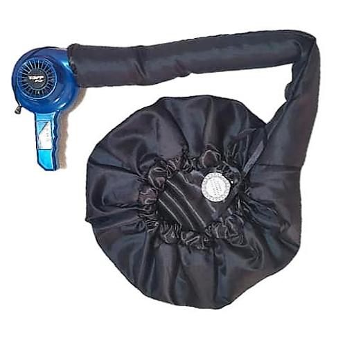 Satin Diffuser Drying Cap - Black