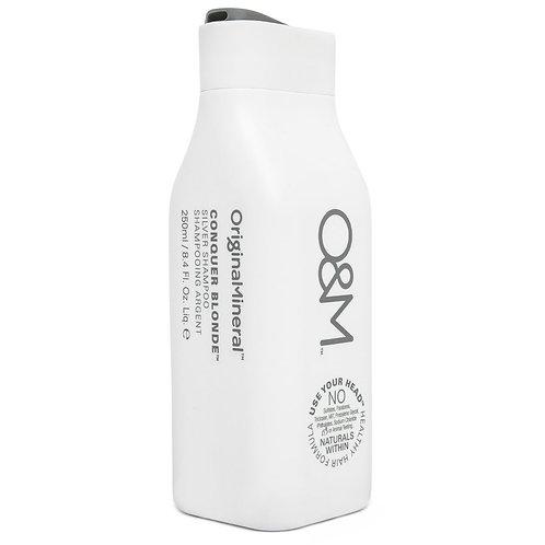 O&M Conquer Blonde Shampoo 250ml