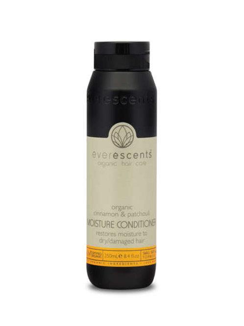 Organic Moisture Conditioner  restores moisture & rehydrates dry hair