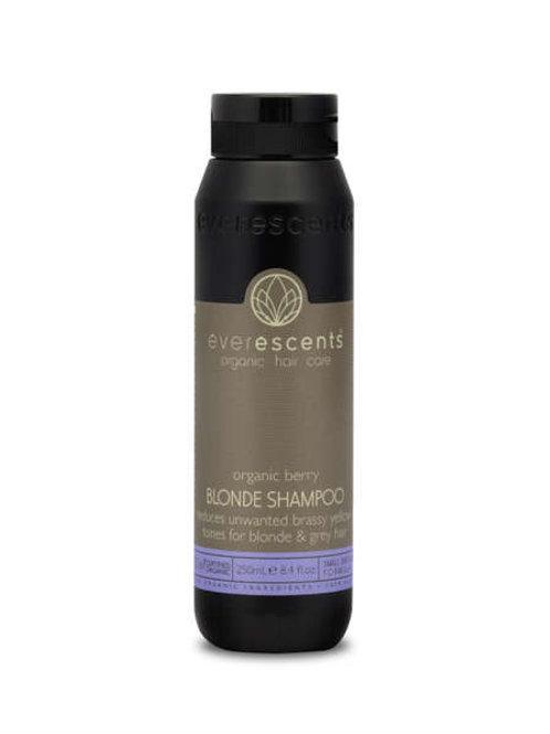Organic Blonde Shampoo  tones & nourishes blonde and grey hair