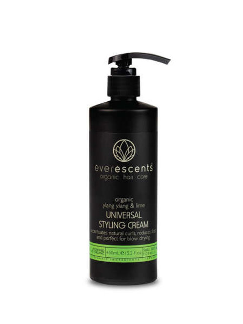 Organic Universal Styling Cream  accentuates natural curls, reduces frizz and pe