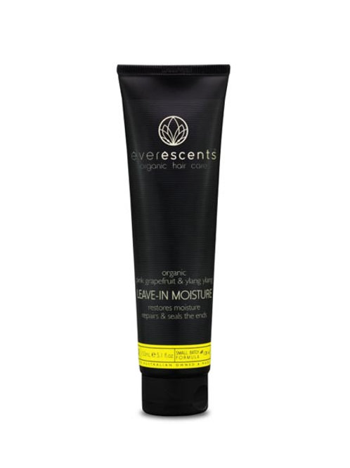 Organic Leave In Moisture  restores moisture, repairs & seals the ends