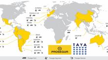 El Grupo Prosegur incrementa la red de filiales gestionadas con TAyA.