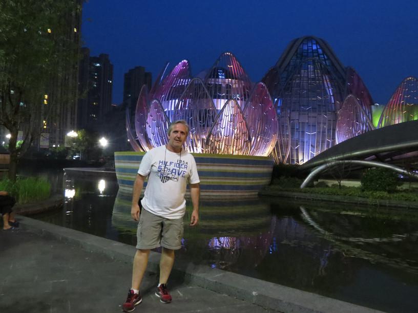 Wujin/China - Monumento Flor de Loto