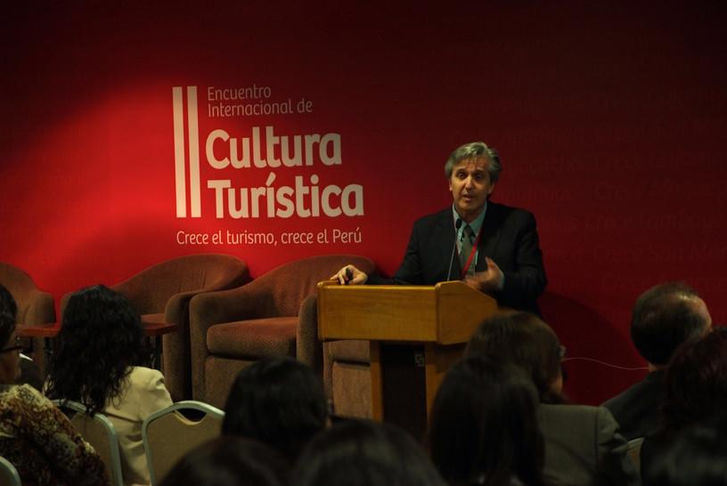 Lima/Perú. EP Consultoría presente en II Encuentro de Cultura Turística