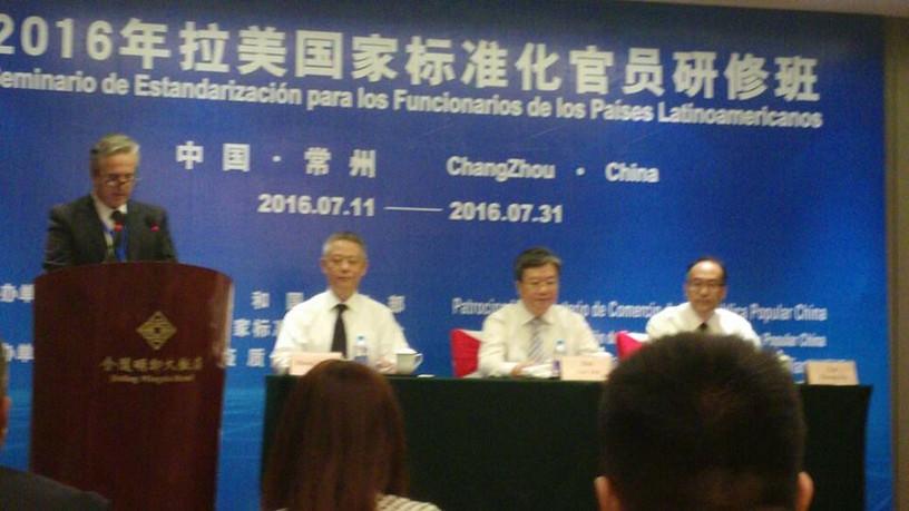 Seminario de Estandarización. Changzhou-China