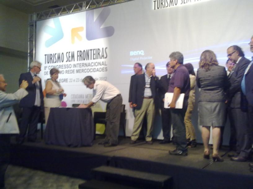 Porto Alegre/Brasil. EP Consultoría presente en Turismo sem Fronteiras.