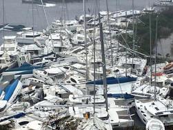 Las enormes pérdidas que han dejado los huracanes en el Caribe.