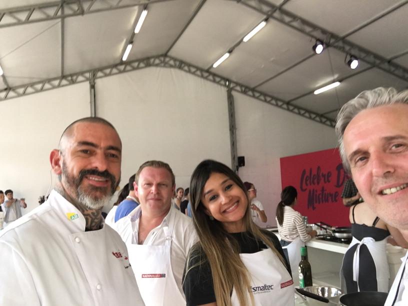 Taste Festival na sua segunda edição em São Paulo.