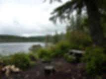 SE Carlson Lake Rec Camp | bikepacking above Halfmoon Bay | bike touring Sunshine Coast