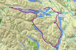 Alberni Inlet Nahmint Lake Map