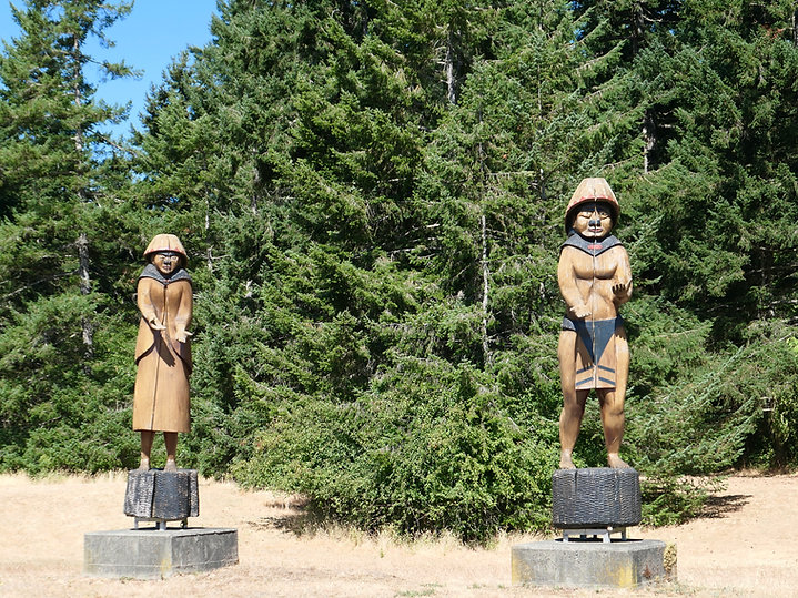 Qualicum First Nation Campground | cycle touring Vancouver Island