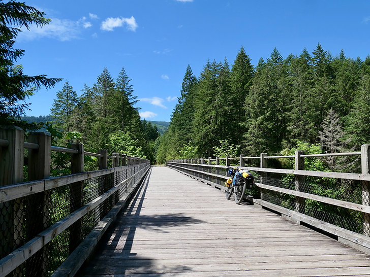 Cowichan Valley Trail | aka Trans Canada Trail | cycle touring fav ride | south Vancouver Island