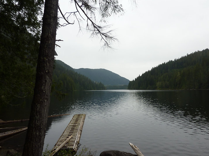 Windsor Lake Rec Camp | Powell Forest Canoe Circuit | cycle touring north Sunshine Coast