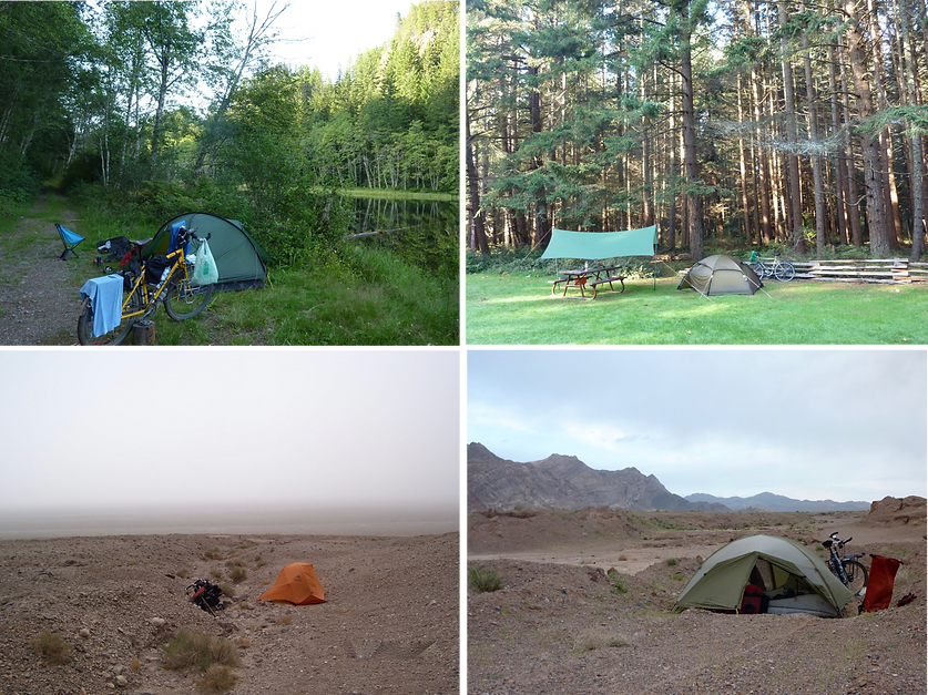 Cycle touring tent discussion | MSR, Hilleberg cycle touring tents