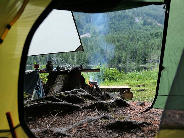 Freda Lake camping | bikepacking Freda Lake