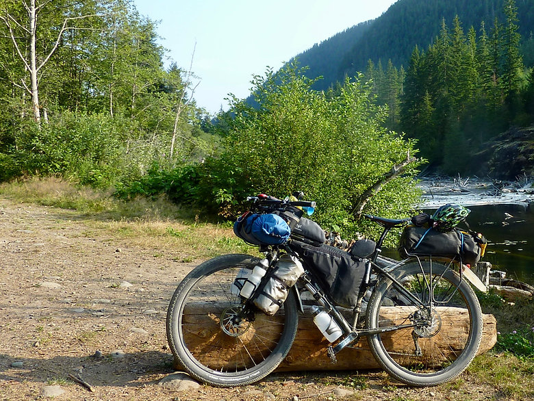 Surly ECR | bikepacking Wolf Lake
