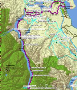 Strathcona Park Loop