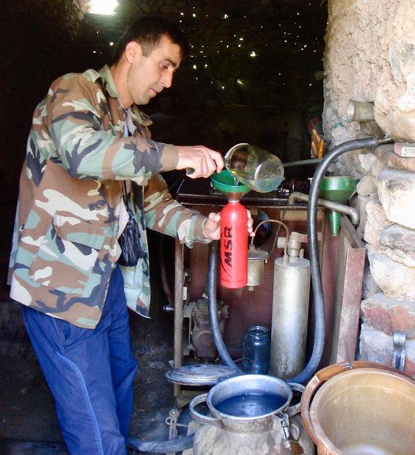 Camp stove fuel in Tajikistan   MSR XGK stove discussion