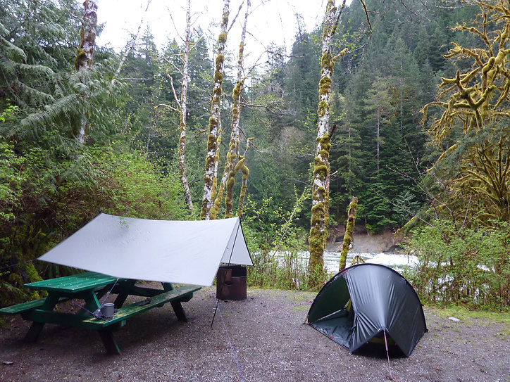 Gold River Municipal Campground | cycle touring Gold River