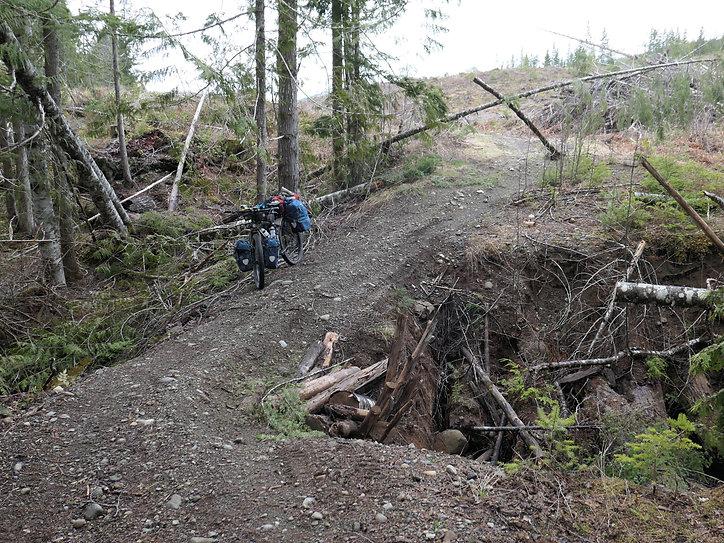 Backroads into Regan Lake | bikepacking Regan Lake | bikepacking NW from Courtenay