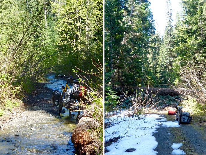 Backroad to June & Toy Lakes | cycle touring Strathcona Park | bikepacking NE of Port Alberni