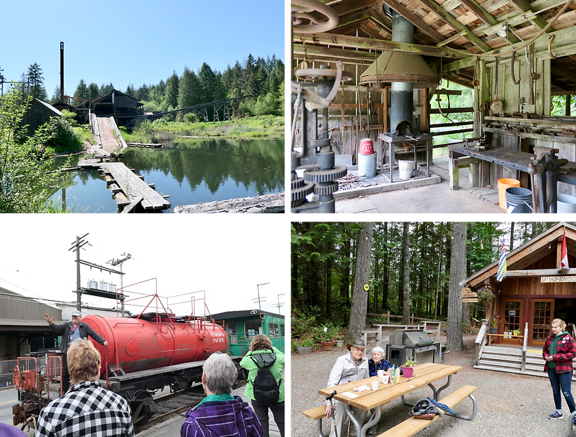 Mclean Mill, Port Alberni | Mclean Mill campground