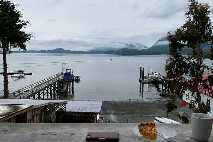 Tofino seaside R & R | cycling to Tofino & west coast |  cycle touring Vancouver Island