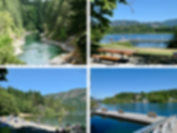 Swimming Cowichan Lake & Cowichan River |  cycle touring Vancouver Island
