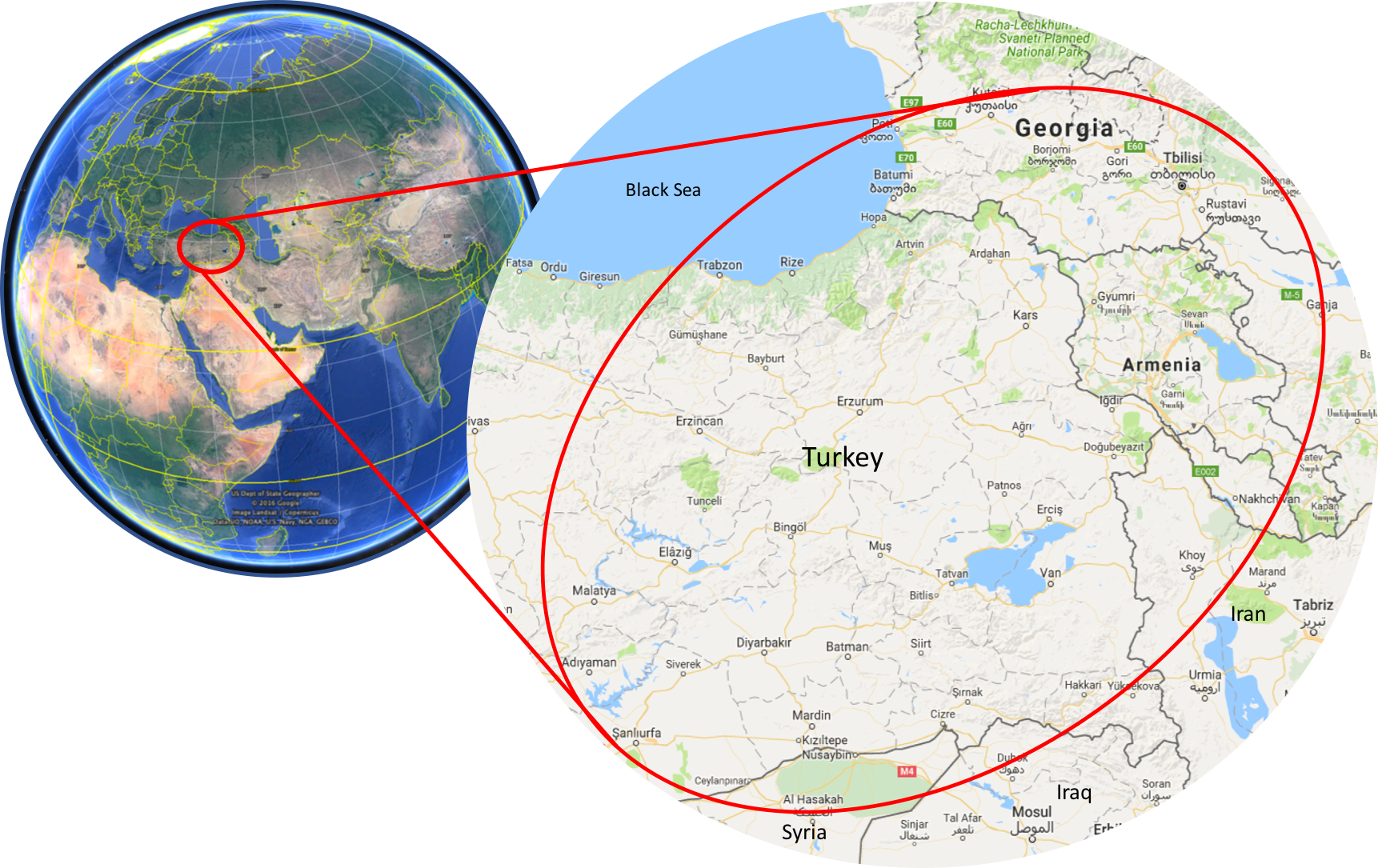 Turkey & Georgia