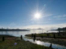Nanoose Bay between Nanaimo & Parksville | cycle touring Vancouver Island