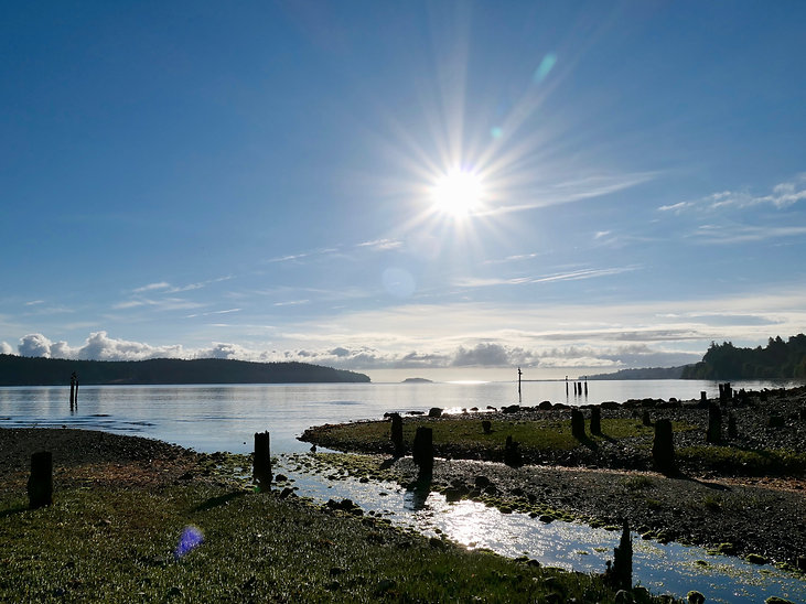 Nanoose Bay between Nanaimo & Parksville | cycle touring Vancouver Island