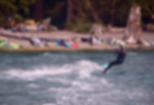 Kite skiing Lake Nitinat | Cowichan Nitinat Port Albeni fav backroads ride | cycle touring Vancouver Island